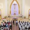 Giáo xứ Phước Bình:  Đức cha Tôma Vũ Đình Hiệu dâng thánh lễ đầu xuân Mậu Tuất 2018