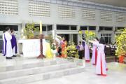 Tin ảnh: Gx. Láng Cát: Thánh lễ xin ơn thánh hóa công ăn việc làm và cầu nguyện cho quý ân nhân - Mùng Ba Tết