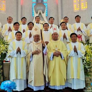 Giáo phận Long Xuyên: Thánh lễ Truyền chức Phó tế