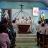 Đức cha Emmanuel cử hành Thánh lễ Tiệc ly tại Nhà thờ Sông Xoài- Giáo họ Mông Triệu