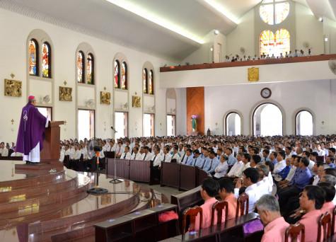 Giáo phận Bà Rịa: Thánh lễ mừng kính thánh Giuse- Bổn mạng giới Gia trưởng