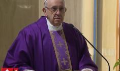 Thánh lễ tại nhà nguyện Marta, 27.02.2018: Nơi tòa giải tội không có đe dọa, nhưng có tha thứ với dịu dàng và tin tưởng