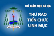 THƯ RAO TIẾN CHỨC LINH MỤC