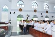 Giáo xứ Hòa Sơn: Lễ kính Thánh Catarina Siêna, bổn mạng Huynh đoàn giáo dân Đaminh -  Liên huynh hạt Xuyên Mộc