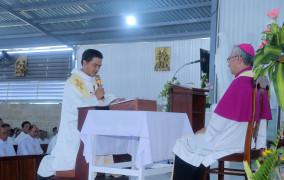 Giáo họ Biệt lập Phước Hưng: Đón chào Cha Tân Phụ trách Antôn Nguyễn Minh Trí