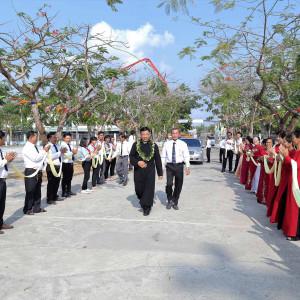 Giáo xứ Thanh Phong: Đón Cha Tân Chánh xứ Đaminh Vũ Duy Hùng