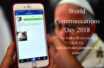 Học hỏi Sứ điệp Ngày Thế giới Truyền thông xã hội năm 2018
