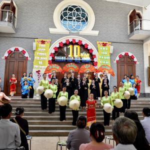 Hội Dòng Mến Thánh Giá Bà Rịa: Họp mặt tạ ơn mừng 10 năm thành lập