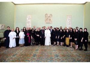 Đức Thánh Cha Phanxicô tiếp phái đoàn bác sĩ Công Giáo Quốc Tế