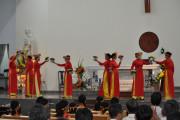 Tin Ảnh: Giáo xứ Hòa Tân:  Cử hành giờ dâng hoa tôn kính Đức Mẹ