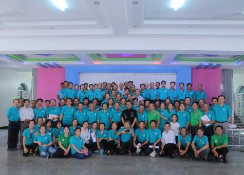 """Caritas Giáo phận Bà Rịa: Chương trình tập huấn với chủ đề:  """"Chăm sóc sức khỏe theo y học cổ truyền dân tộc Việt Nam"""""""