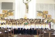 Giáo xứ Láng Cát: Thánh lễ tuyên hứa của 115 em thiếu nhi lớp Sống Đạo và Vào Đời