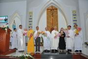 Giáo xứ Hòa Sơn: Thánh lễ tạ ơn hồng ân vĩnh khấn nữ tu Maria Nguyễn Hoàng Thảo Vân