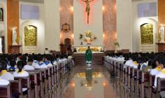 Giáo xứ Chánh Tòa Bà Rịa: Thánh lễ tạ ơn tổng kết năm học giáo lý 2017-2018