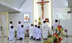 Giáo xứ Đất Đỏ: Thánh lễ khai mạc ngày Chầu Thánh Thể thay Giáo Phận
