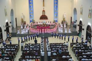 Giáo xứ Bông Trang: Dâng hoa tạ ơn Mẹ - 31.5.2018