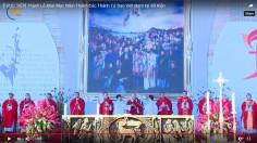VIDEO: Thánh lễ Khai mạc Năm Thánh Các Thánh Tử Đạo Việt Nam tại Sở Kiện 19-6-2018