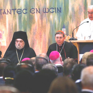 GENÈVE - ĐTC Phanxicô : Hội đồng Đại kết các Giáo hội Kitô