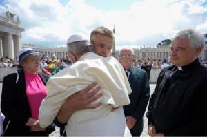 Đức Thánh Cha Phanxicô gặp Tomasz Komenda, một cựu tù nhân bị tù oan gần 20 năm