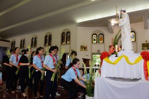 Giáo xứ Chánh Tòa Bà Rịa: Mừng lễ kính Chân phước Anrê Phú Yên- Bổn mạng giáo lý viên giáo xứ