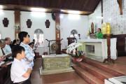 """Tin Ảnh: Nhà thờ Mồ Bà Rịa:Giáo xứ Tân Phước hành hương Năm Thánh """"Tôn vinh các Thánh Tử Đạo Việt Nam"""""""