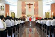 Giáo xứ Chánh Toà Bà Rịa: Thánh lễ ban Bí tích Thêm Sức