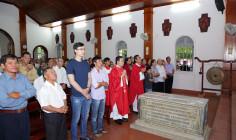 Tin Ảnh: Nhà thờ Mồ Bà Rịa: Giáo xứ Dũng Lạc hành hương Năm Thánh