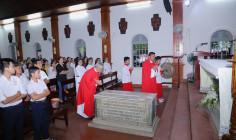 Nhà thờ Mồ Bà Rịa: Giáo xứ Long Tâm hành hương Năm Thánh kính các Thánh Tử Đạo Việt Nam