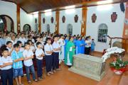 Tin Ảnh: Nhà thờ Mồ Bà Rịa: Giáo xứ Long Điền hành hương Năm Thánh kính các Thánh Tử Đạo Việt Nam