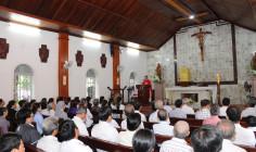 Tin Ảnh: Nhà thờ Mồ Bà Rịa: Giáo xứ Long Toàn hành huơng Năm Thánh