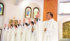 Giáo phận Bà Rịa: Thánh lễ truyền chức linh mục - Năm 2018