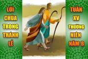 BẢN VĂN BÀI ĐỌC TRONG THÁNH LỄ- TUẦN XV THƯỜNG NIÊN – NĂM B