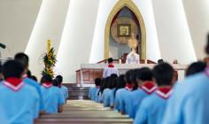Tin ảnh: Giáo hạt Bình Giã: Khóa đào tạo giáo lý viên cấp II: Hừng Đông 2018