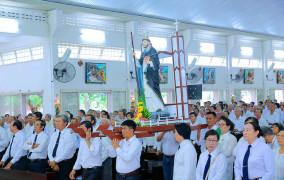 Gx. Lam Sơn: Huynh Đoàn Đaminh Giáo phận Bà Rịa mừng lễ kính Thánh Tổ phụ Đaminh