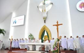 Đền Thánh Đức Mẹ Bãi Dâu: Thánh lễ đầu tháng 9.2018- Tôn kính Mẹ Maria