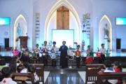 Giáo xứ Hòa Sơn: Thiếu nhi vui tết Trung thu 2018