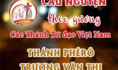 Cầu nguyện theo gương các Thánh Tử đạo Việt Nam:  THÁNH PHÊRÔ TRƯƠNG VĂN THI, Linh mục