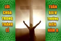 BẢN VĂN BÀI ĐỌC TRONG THÁNH LỄ- TUẦN XXIV THƯỜNG NIÊN – NĂM B
