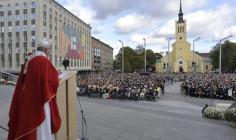 ĐTC Phanxicô dâng Thánh lễ tại quảng trường Tự do ở Tallin, Estoni