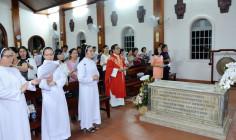 Tin Ảnh: Đoàn hành hương Núi Tao Phùng: Hành hương Nhà thờ Mồ Bà Rịa