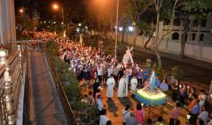 Gx. Chánh Tòa Bà Rịa: Rước kiệu tôn vinh Mẹ Fatima
