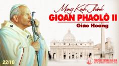 Bài đọc và bản văn phụng vụ lễ nhớ Thánh Giáo hoàng Gioan Phaolô II