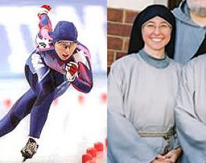 Từ vận động viên trượt băng trở thành nữ tu dòng Phan sinh