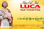 18.10.2018 – Thánh Luca, tác giả Sách Tin Mừng