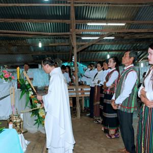 Giáo điểm Ruộng Tre – Gx. Vinh Châu: Mừng lễ Thánh nữ Têrêsa Hài đồng Giêsu, bổn mạng Giới Hiền mẫu