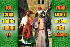 BẢN VĂN BÀI ĐỌC TRONG THÁNH LỄ- TUẦN XXVIII THƯỜNG NIÊN – NĂM B