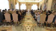 ĐGH tiếp kiến Hàn Lâm Viện Tòa Thánh về khoa học