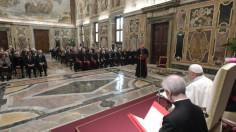 ĐTC tiếp Đại Hội Đồng Hội Hiệp Sĩ Thánh Mộ Jerusalem
