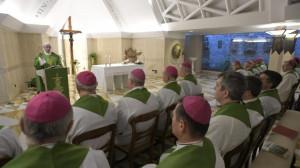 Đức Thánh Cha: Làm chứng là phá đổ một thói quen và loan truyền lòng thương xót