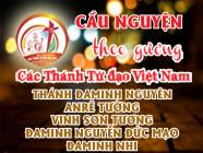 Cầu nguyện theo gương các Thánh Tử đạo Việt Nam: ĐAMINH NGUYÊN Chánh trương và lang y, ANRÊ TƯỜNG Nông gia, VINH SƠN TƯƠNG Chánh tổng, ĐAMINH NGUYỄN ĐỨC MẠO Nông dân, ĐAMINH NHI Nông dân